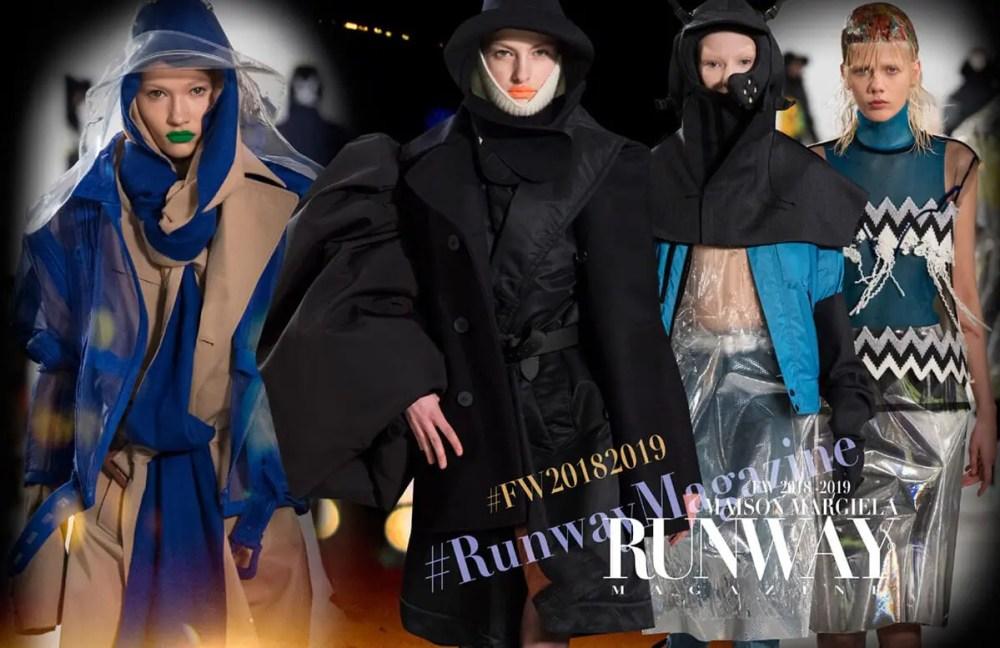 MAISON MARGIELA Fall Winter 2018-2019 by Runway Magazine Paris Fashion Week