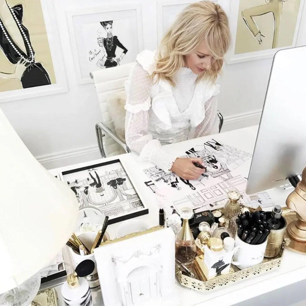 Megan Hess Fashion Artist by Runway Magazine