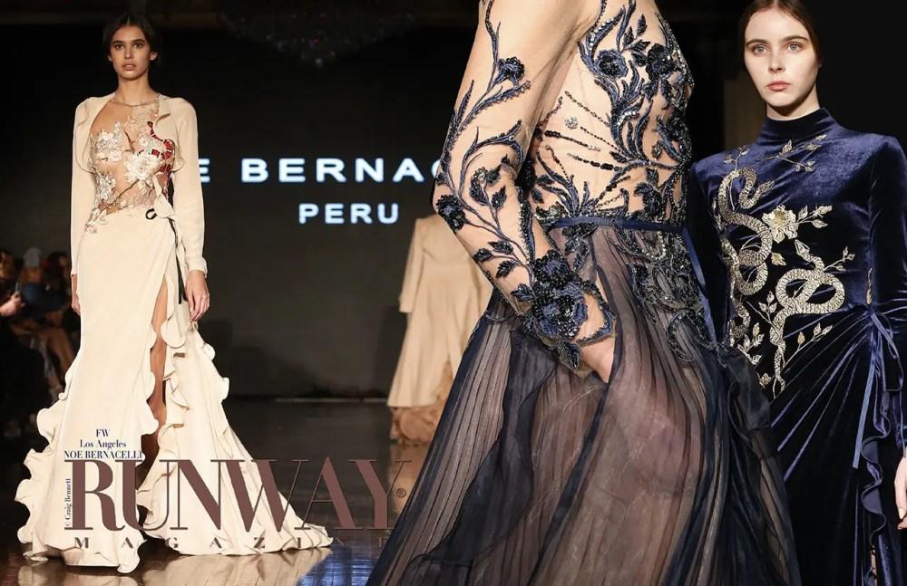 Noe Bernacelli Spring Summer 2018 by Runway Magazine Los Angeles Fashion Week
