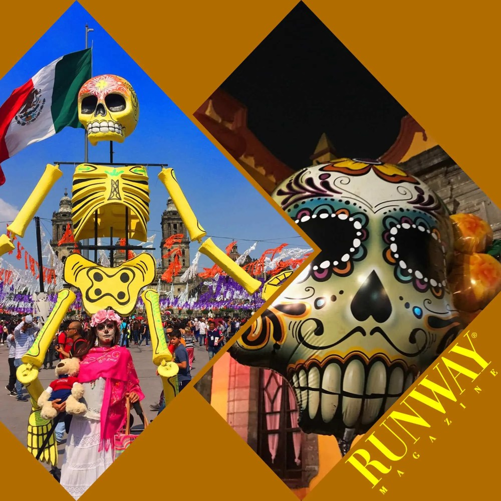 Runway Magazine the Day of Dead in Mexico