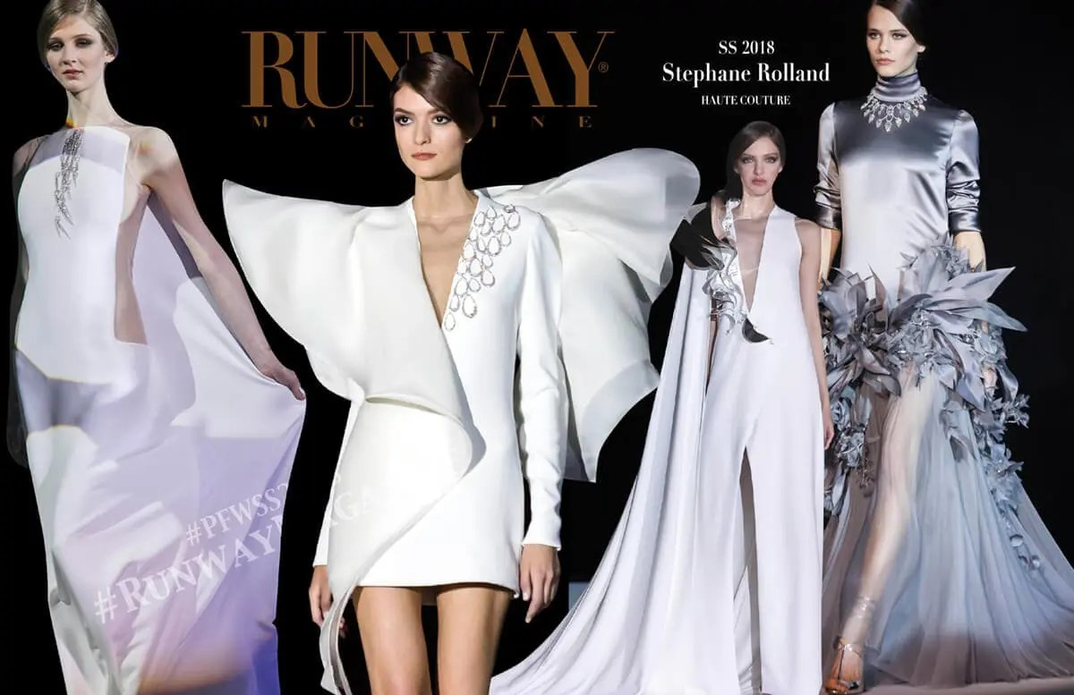 Stephane rolland haute couture spring summer 2018 for Haute official