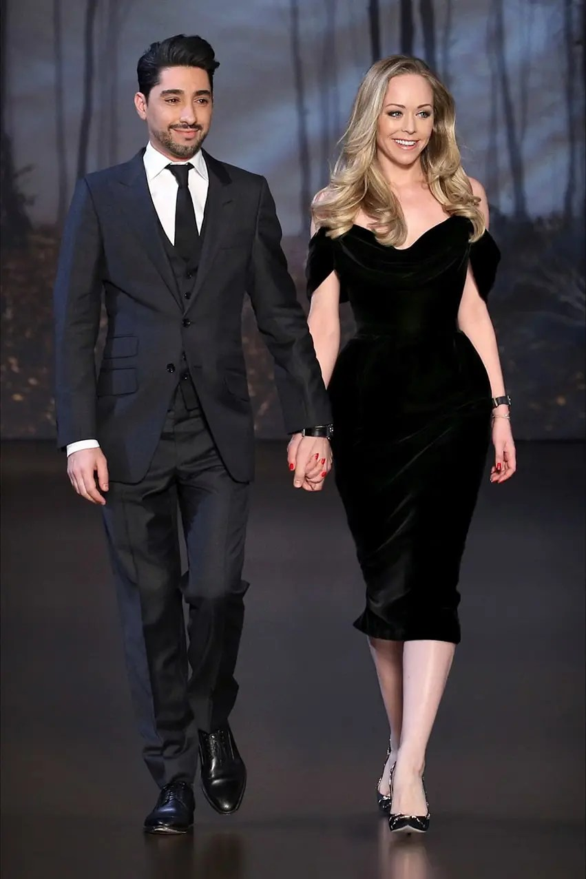 Tamara-Ralph-and-Michael-Russo-the-brand's-founders-inthe-Ralph&Russo-runway-magazine