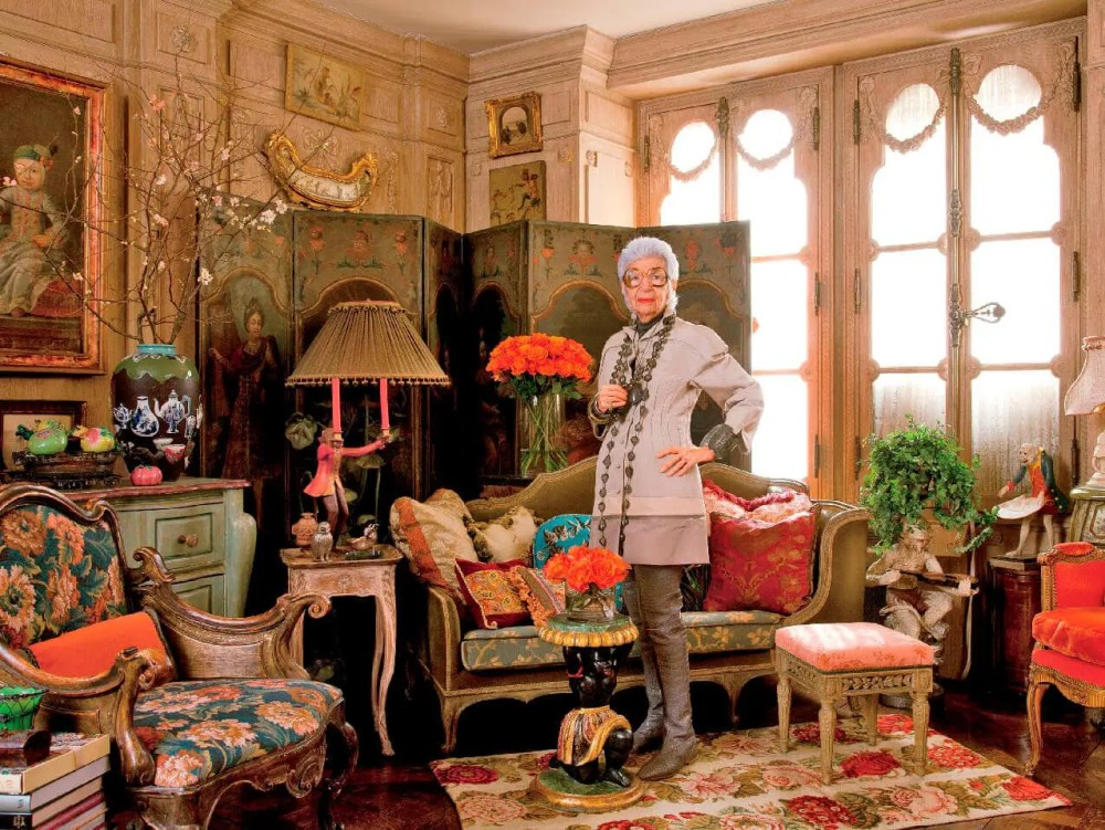 Iris Apfel - Fashion Icon by Runway Magazine