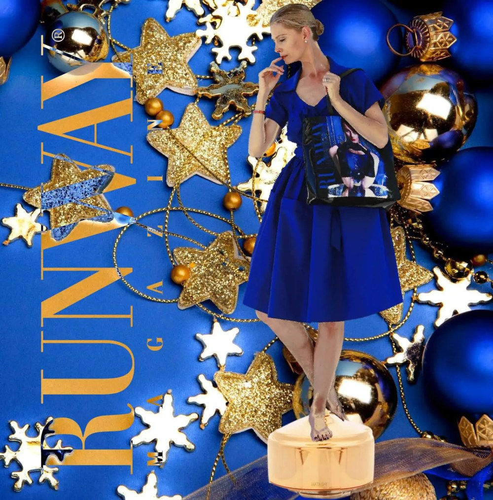 Runway Magazine Bag: a Christmas story forever