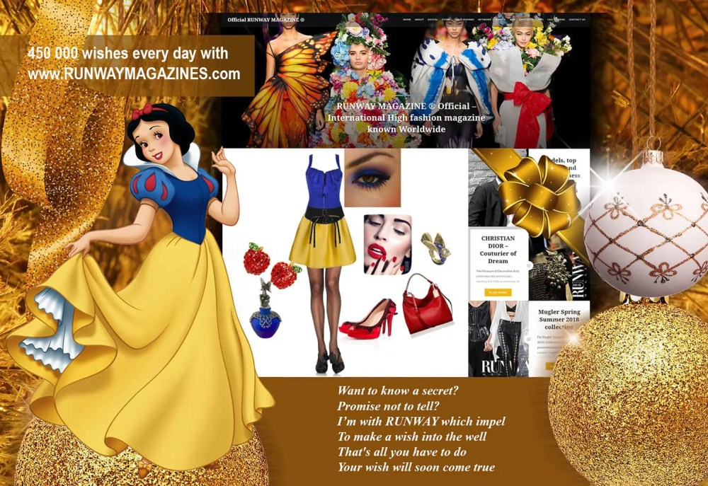 runway-magazine-usa-official-web-site-eleonora-de-gray-france-2017-snow-white-wish 8 Fascinating Facts About Walt Disney