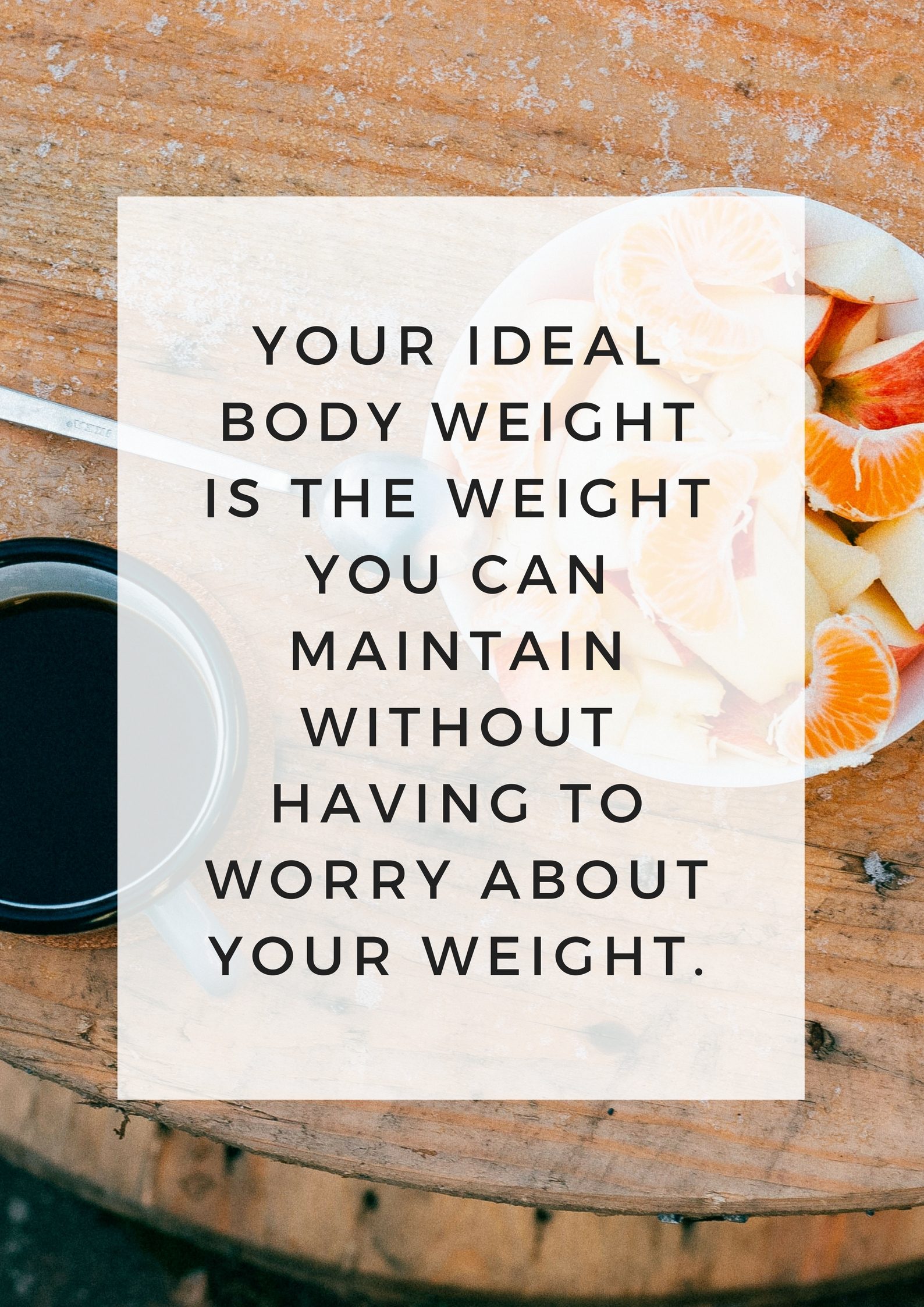 How to find your ideal body weight | Runwholenutrition.com
