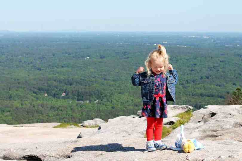 Taking photos of kids stone mountain atlanta