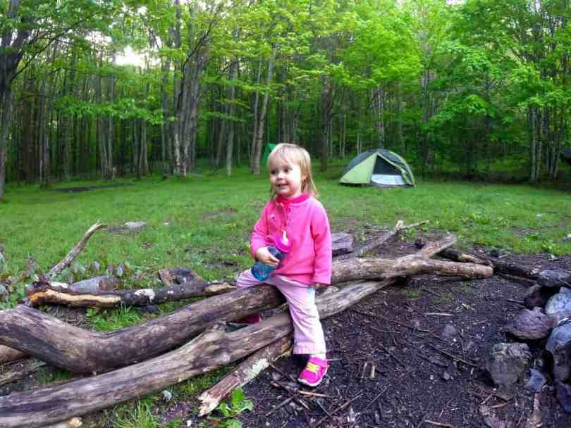 Hiking the Appalachian Trail with a Toddler