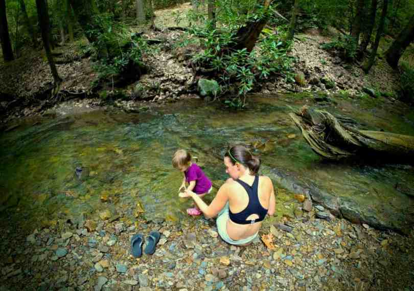 How to hike and backpack the Appalachian Trail with a Toddler