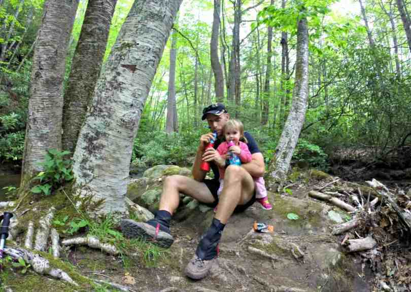 Overnight Backpacking on the Appalachian Trail with a Toddler