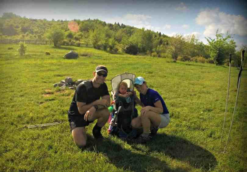 Outbound Tribe Sims Family Backpacking the Appalachian Trail with a Toddler