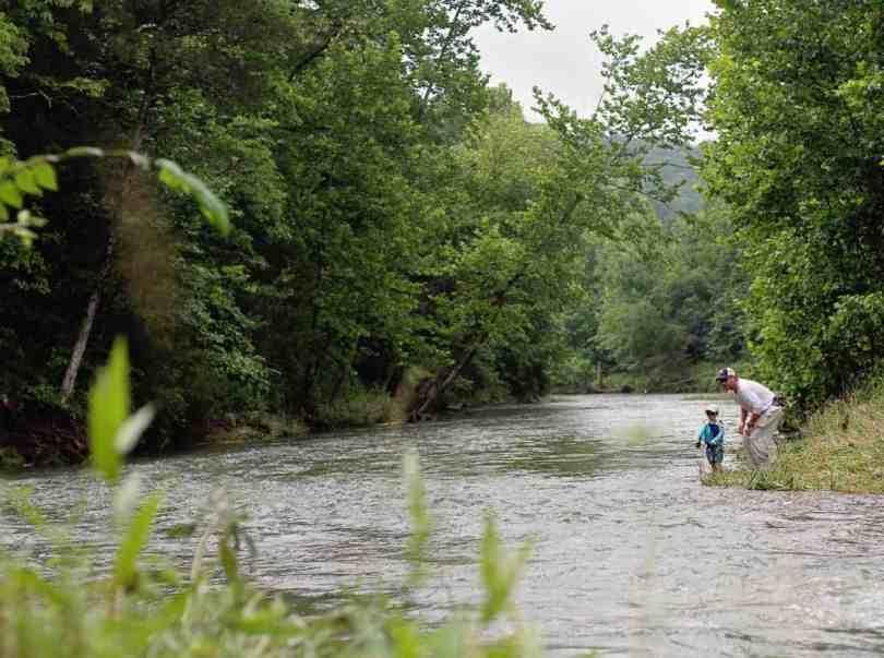 raising kids to love to go fishing