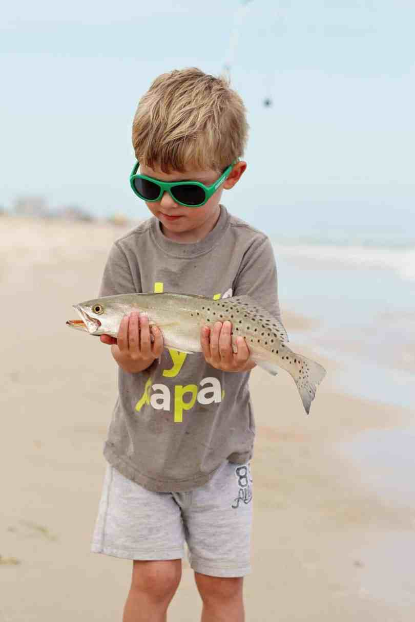 raising kids that love to fish