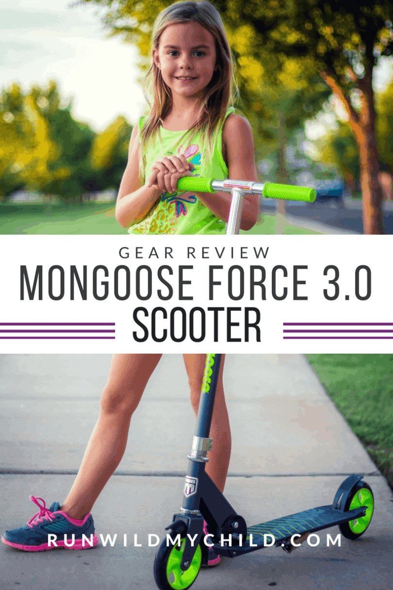 Mongoose Scooter for kids Force 3.0 review