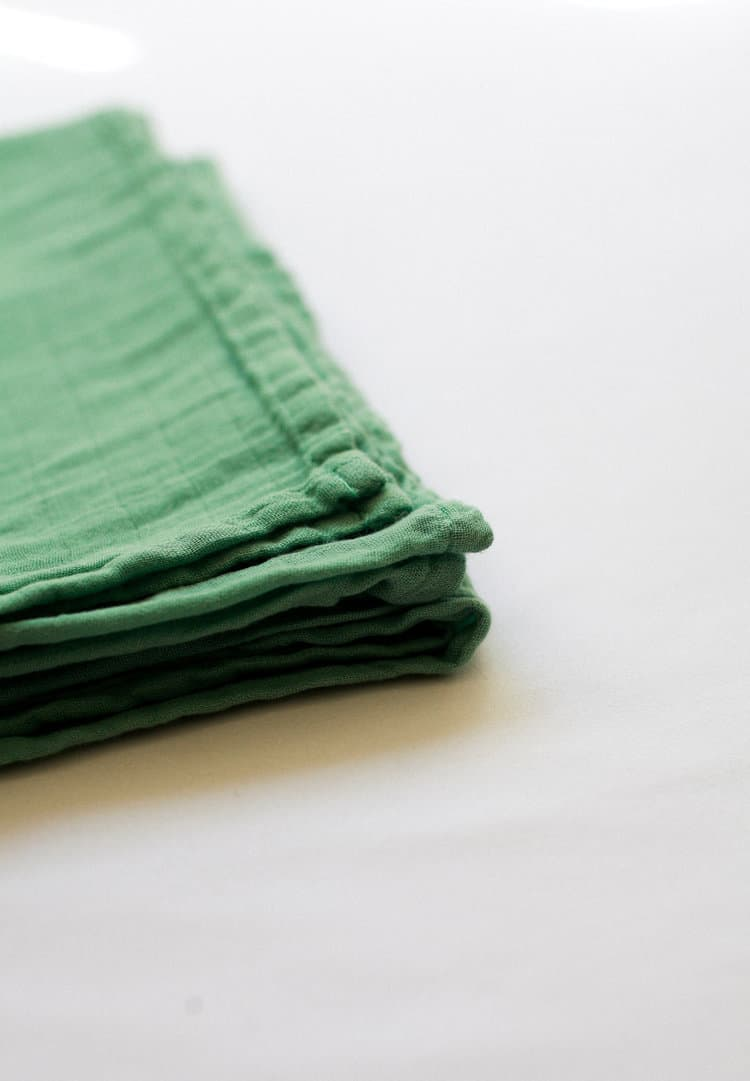Peri Co (Perrenial Cotton) bamboo muslin swaddles