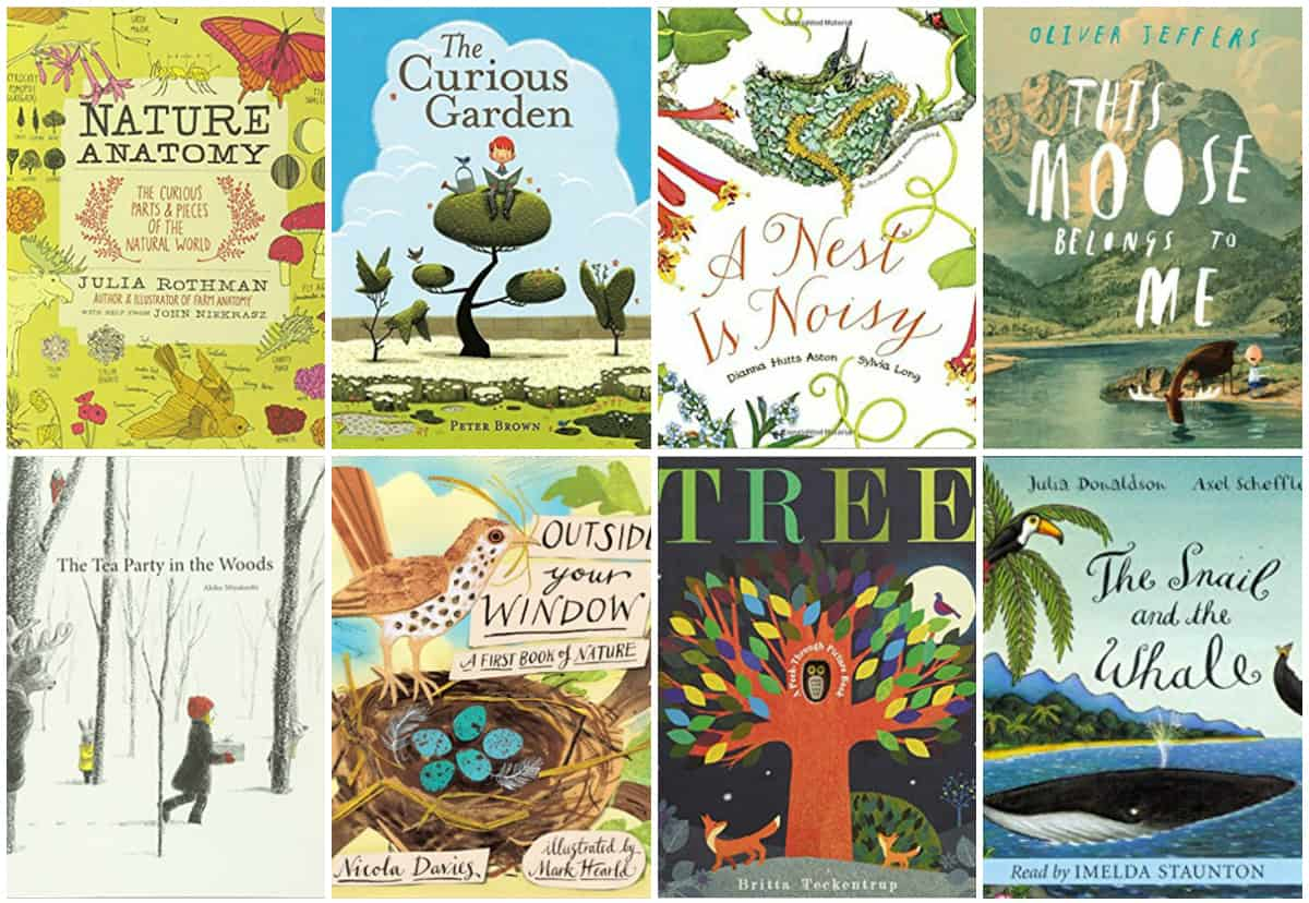 30 Beautiful Children S Picture Books About Nature