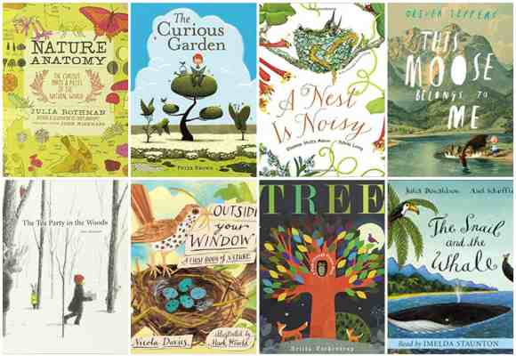 30+ Beautiful Children's Picture Books about Nature