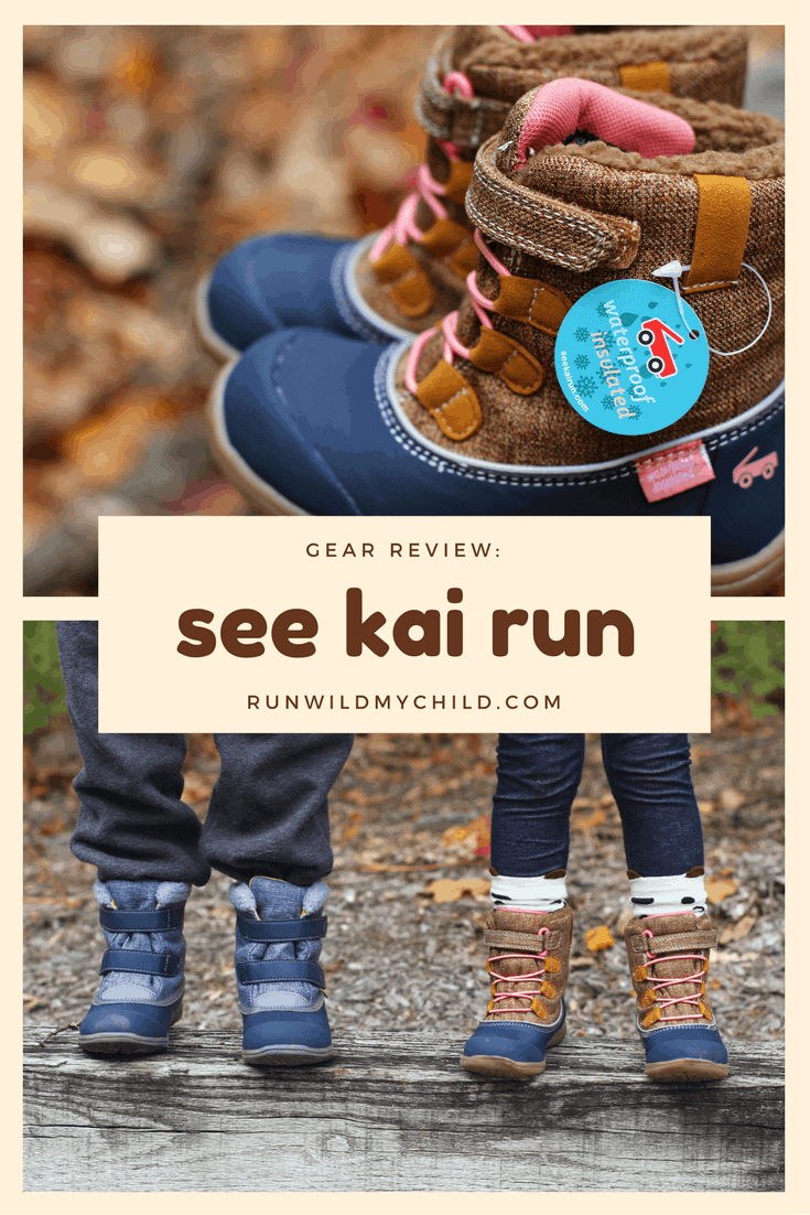 Gear Review: See Kai Run waterproof insulated boots for kids