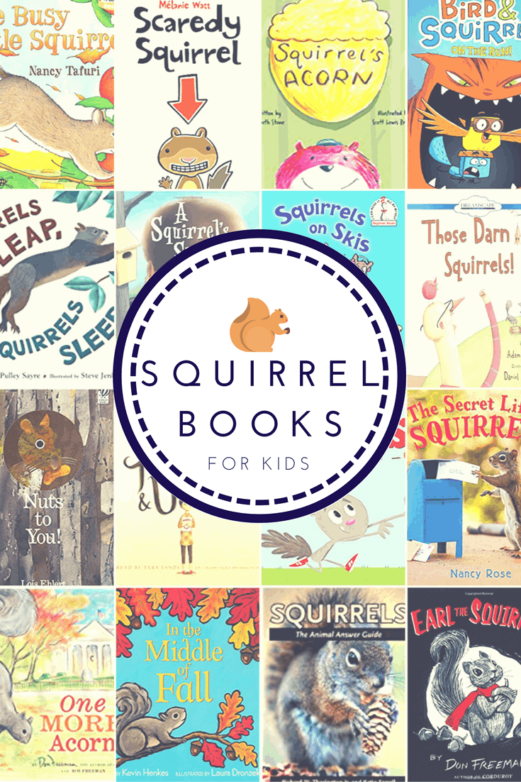 squirrel books for kids