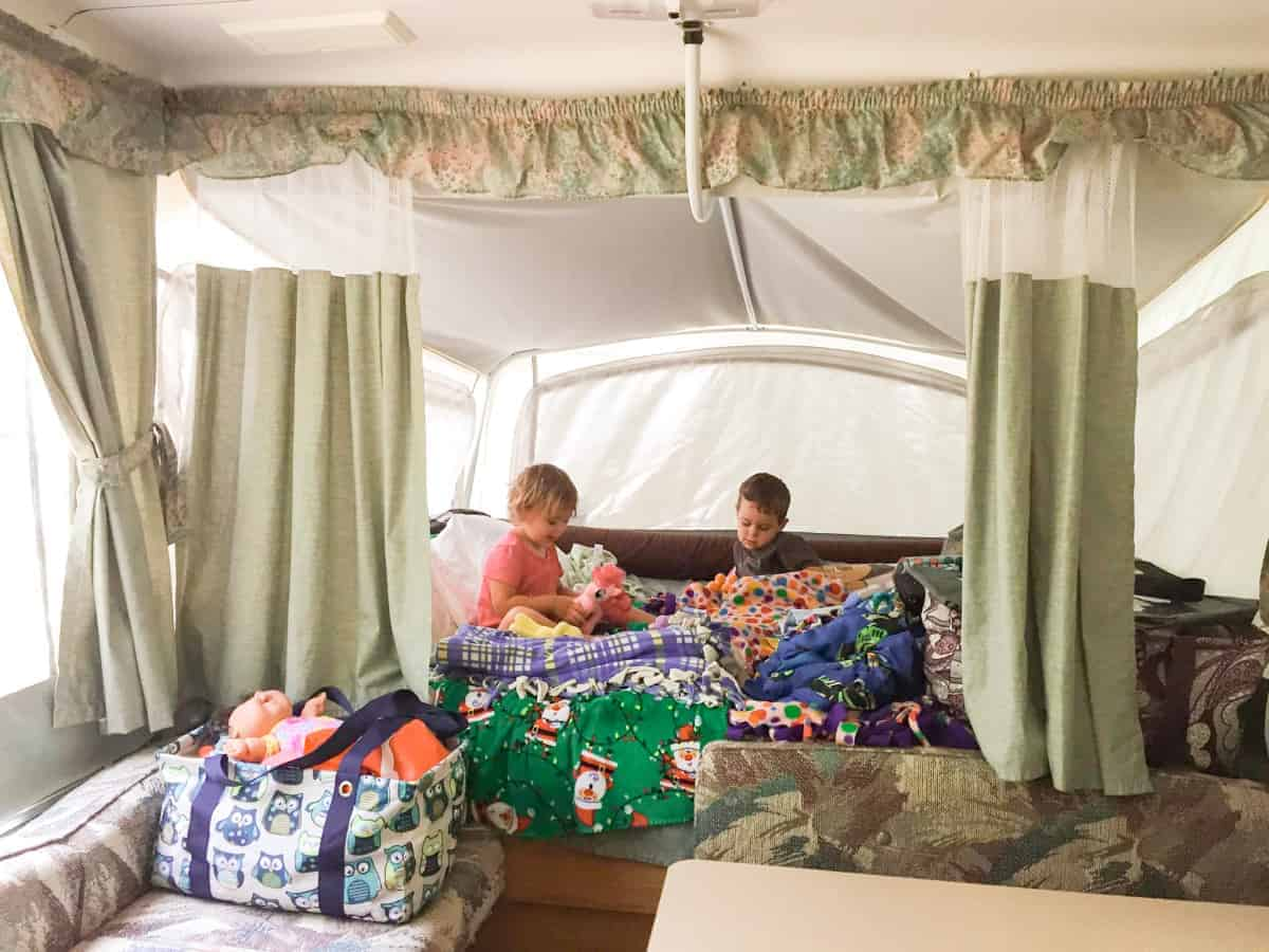 Pop-Up Camping With a Large Family • RUN WILD MY CHILD