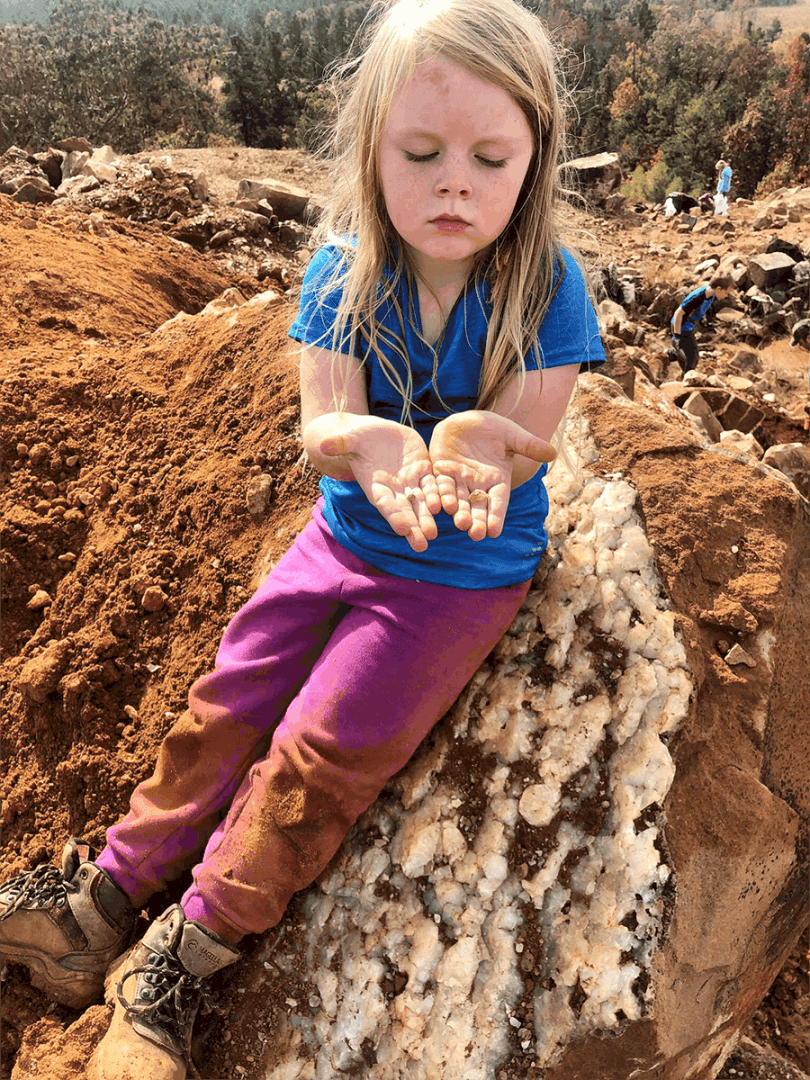 Digging for Crystals with Kids • RUN WILD MY CHILD