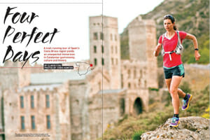Costa Brava in Trail Runner mag by Elinor Fish