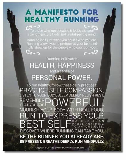 Manifesto For Healthy Running