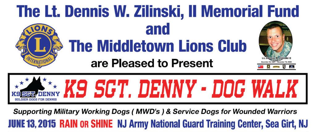 K9 Sgt. Denny – Dog Walk 2015 Registration