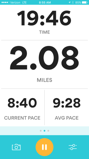 Sprinting to improve my pace