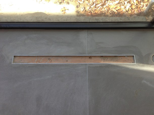 Floor Zinc Register Cut-Out