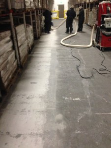 AMC freezer aisle prep grind