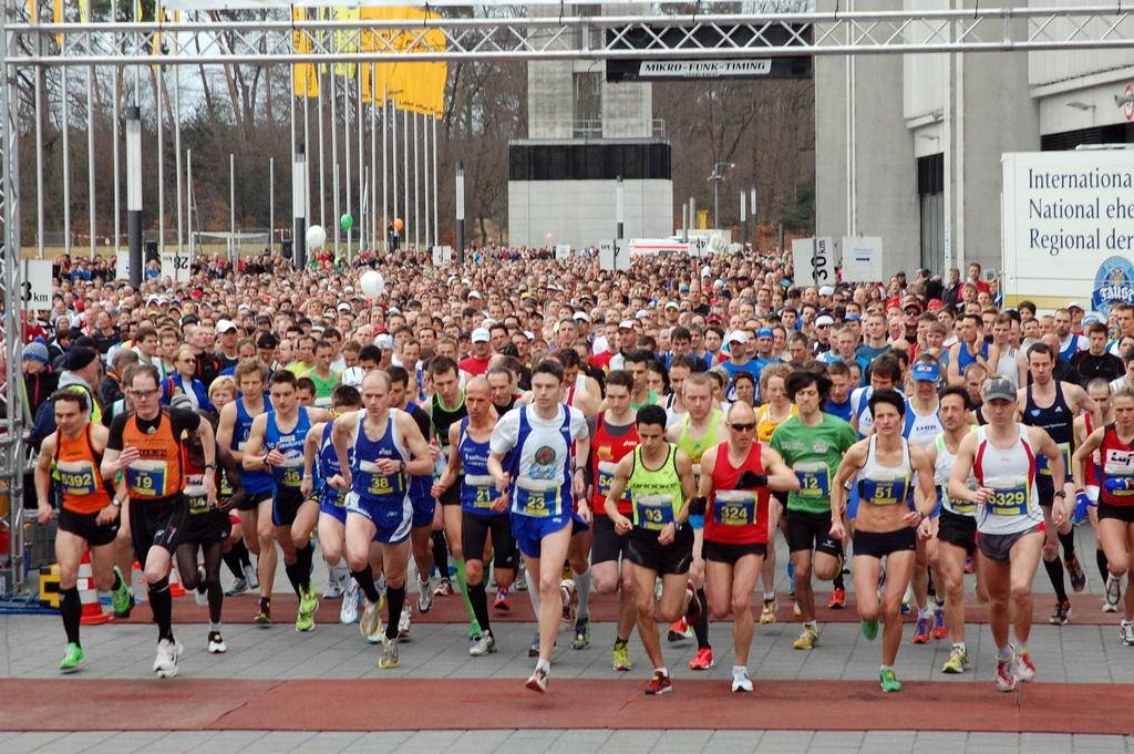 Halbmarathon Kalender 2018