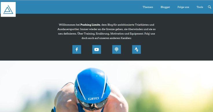 Pushing Limits - Laufblog