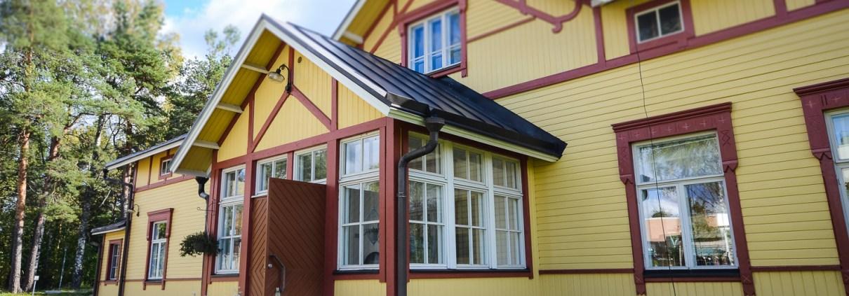 Ravintola Wille - Olohuone ja keittiö