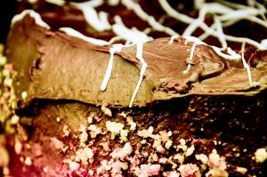 Suklaakakku Karoliinan Kestikievarissa