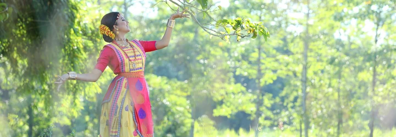 """""""নৃত্য আৰু অভিনয় মোৰ হৃদয়ৰ স্পন্দন""""- নন্দিনী কাশ্যপ 1"""