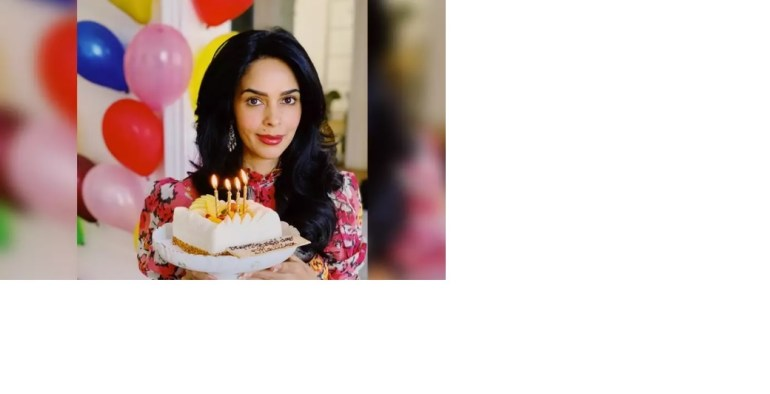 Mallika Sherawat celebrates her birthday with a vegan cake: I'm grateful to God for all His blessings this year 2