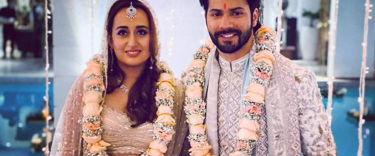 Varun Dhawan has the cutest response as a paparazzi congratulates him and wife Natasha Dalal on their wedding 1