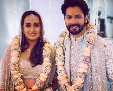 Varun Dhawan has the cutest response as a paparazzi congratulates him and wife Natasha Dalal on their wedding 2