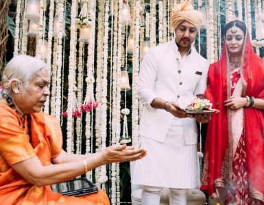 Dia Mirza and Vaibhav Rekhi's wedding solemnized by a woman priest 17