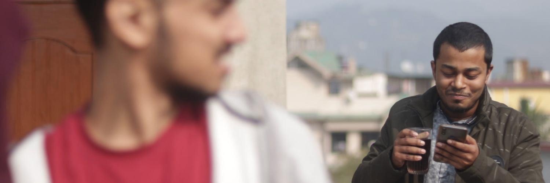 """নতুন টুইষ্টৰ সৈতে নৱপ্ৰজন্মৰ চুটি ছবি """"The Message""""- 1"""