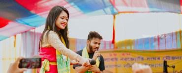 """এটি নতুন যুটি, ৰাজশ্ৰী শইকীয়া আৰু বিকি কলিতাৰ কণ্ঠৰে আহি আছে """"তই নাচাবি আনলৈ""""- 7"""