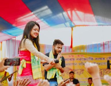 """এটি নতুন যুটি, ৰাজশ্ৰী শইকীয়া আৰু বিকি কলিতাৰ কণ্ঠৰে আহি আছে """"তই নাচাবি আনলৈ""""- 13"""
