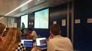 Arup, a posh Civils Company, hosting the Missing Maps Mapathon.