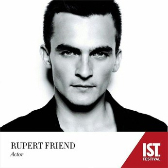 """""""I think that what drives most of us human beings is the want for something. You might have a hope, or a big dream, or a goal that you haven't yet achieved..."""" -- #RupertFriend Actor Rupert Friend will be joining us at #ISTFest2016 on June 3, 4, 5. #StayTuned"""