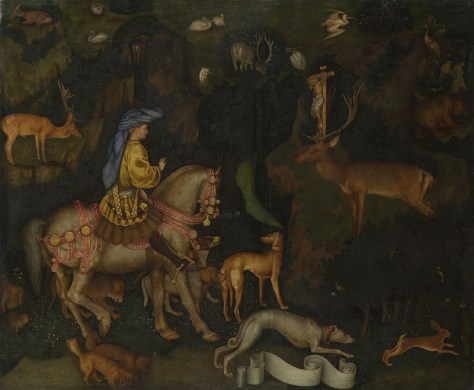 Pisanello, The Vision of St Eustace