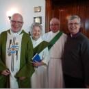 Australian Bishop Visits Pembina Hills Parishes