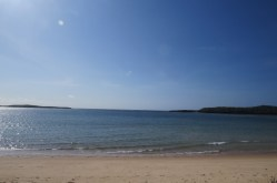 Grand sweep of the bay at Kiunga Marine National Reserve Copyright Maya Mangat