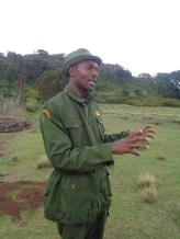 Edwin Kinyajui - senior community wildlife officer, Mount Kenya Trust Copyright Rupi Mangat