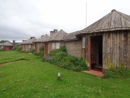 Self-contained bandas at Castle Forest Lodge Copyright Rupi Mangat
